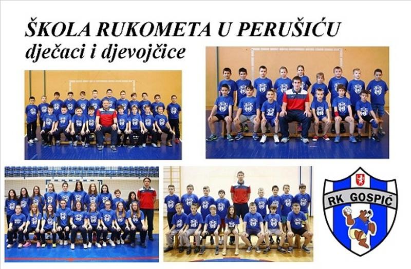 Photo of RK Gospić započinje sa školom rukometa u Perušiću