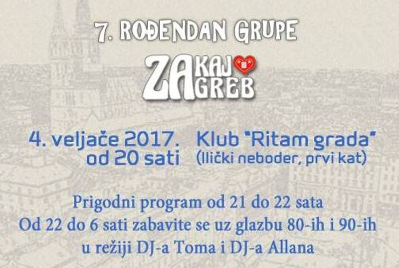 """Photo of Popularna Facebook grupa """"Zakaj volim Zagreb"""" slavi 7. rođendan!"""
