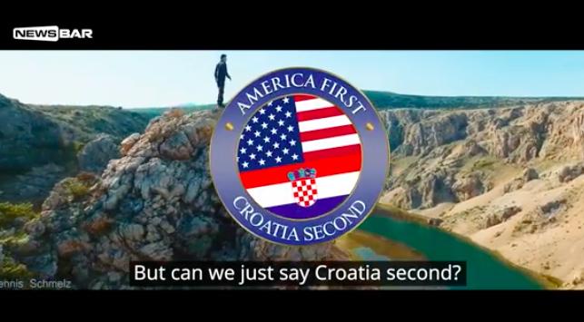 """Photo of VIDEO Newsbar spomenuo i """"ličko rukovanje""""… America first, Croatia second!"""