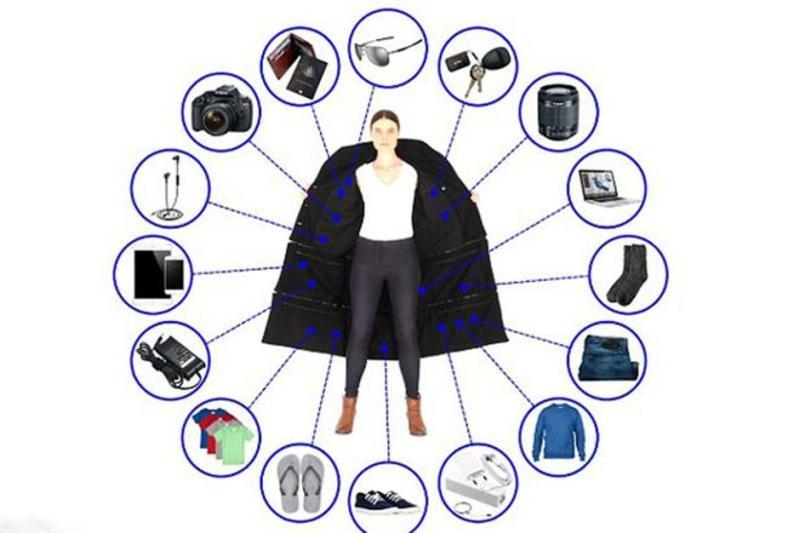Photo of U ovom kaputu možete ponijeti 15 kilograma stvari!