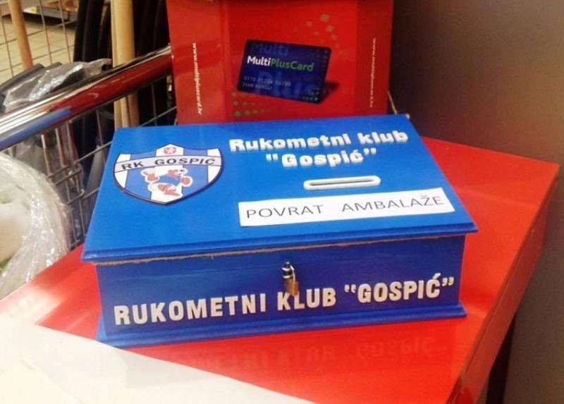 Photo of Povratom ambalaže pomozite najmlađim članovima RK Gospić
