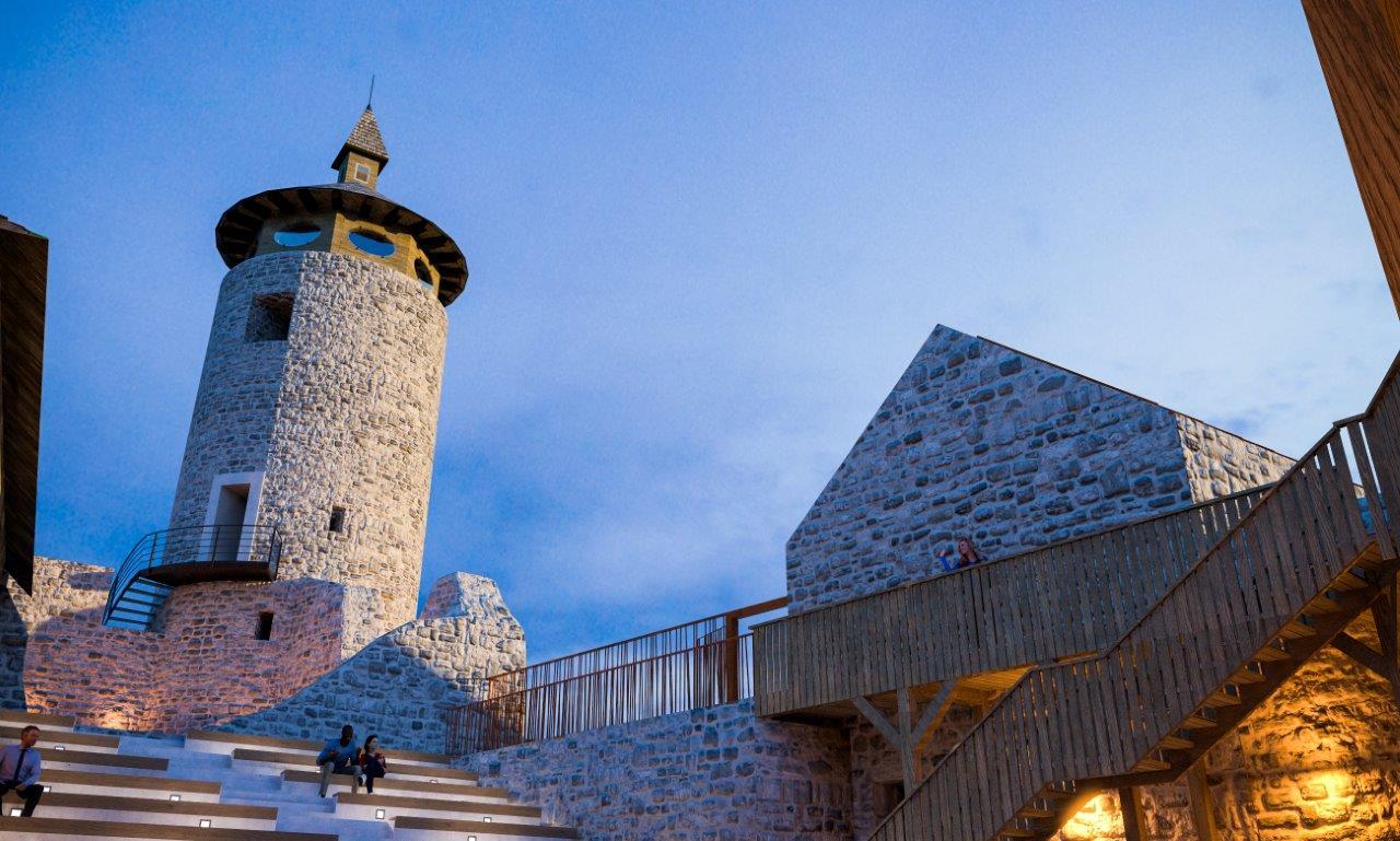 Photo of FOTO Pogledajte senzacionalan projekt obnove Starog Grada Drežnika kod Rakovice!