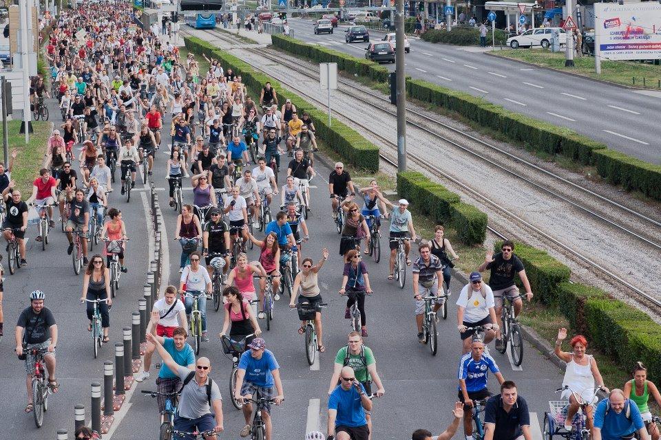 Photo of Veliki biciklistički prosvjed u Zagrebu