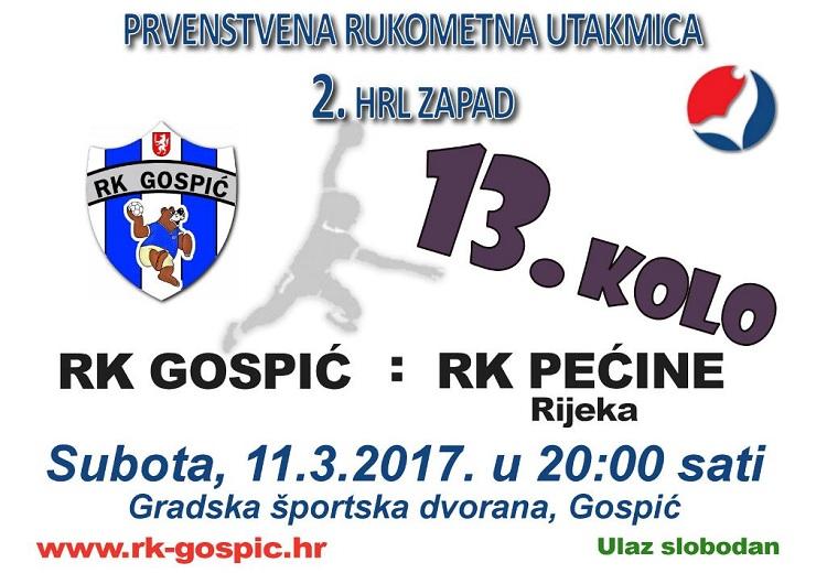 Photo of Rukometašima Gospića večeras u goste stiže Pećina