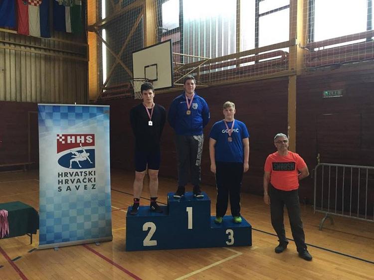 Photo of Gospićki hrvač postao prvak države u kategoriji do 120 kg!
