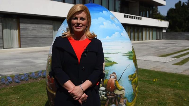 Photo of VIDEO Uskrsna čestitka predsjednice Kolinde Grabar-Kitarović