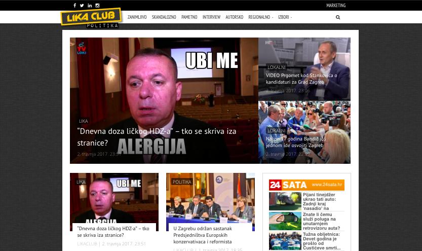 Photo of Dobrodošli na politički dio portala LIKACLUB