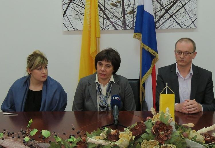 Photo of HSLS-ova Sanja Rukavina predstavila kandidaturu za gradonačelnicu Gospića