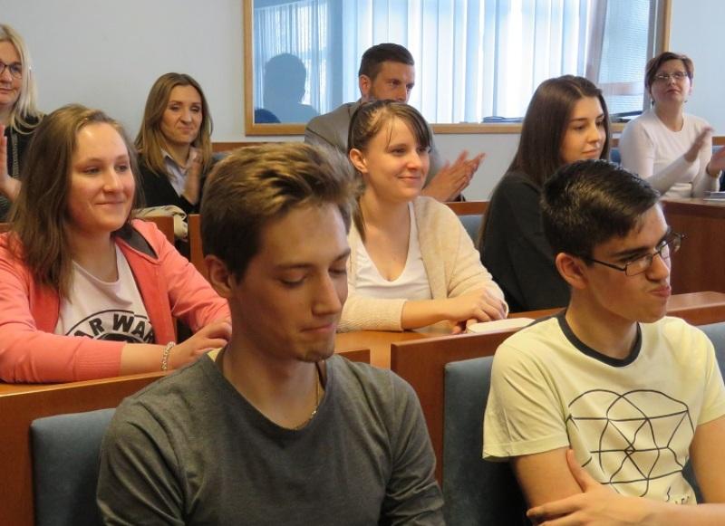 Photo of Gospićki gimnazijalci na prijemu kod župana Milana Kolića