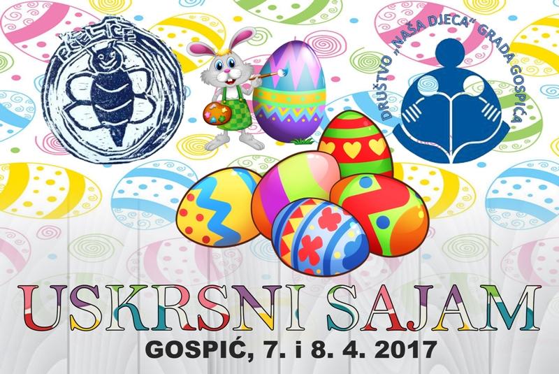 Photo of DND Gospić i Pčelice vas pozivaju na Uskrsni sajam