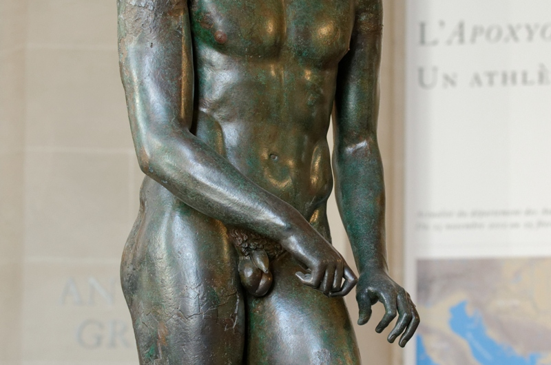 """Photo of Zašto antički kipovi muškaraca nisu """"obdareni""""?"""