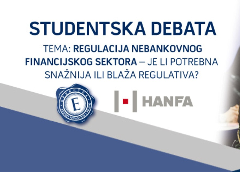 Photo of EFFECTUS i HANFA Studentska debata o regulaciji nebankovnog financijskog sektora
