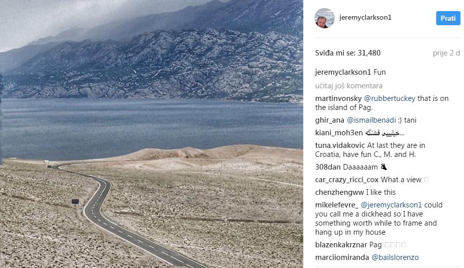 Photo of Ekipa Grand Toura posjetila Novalju i Plitvice, Clarkson oduševljen Hrvatskom