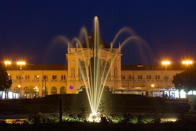 Photo of Igra vode, svjetla i glazbe na vodenom zidu zagrebačkih fontana