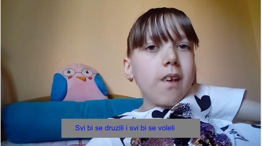 Photo of VIDEO: U njenoj državi vladala bi samo ljubav!