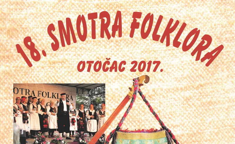 Photo of Pogledajte program 18. Smotre folklora u Otočcu!