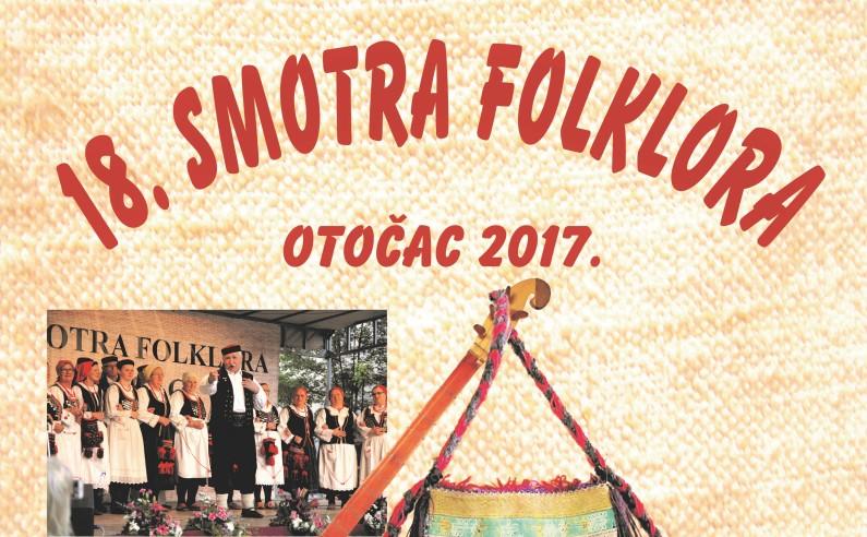 Photo of Smotra folklora u Otočcu ove godine će se održati 18. put
