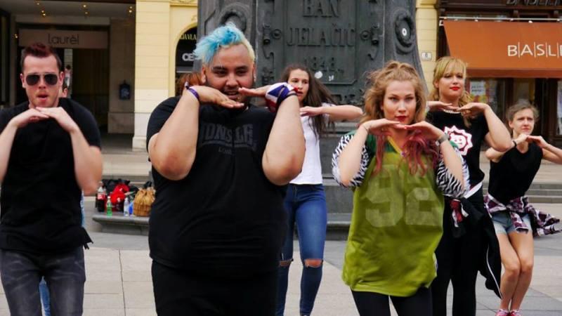 Photo of Multijezični glazbeni video spot snimljen u Zagrebu uz podršku Erasmus plus programa i Europske Unije