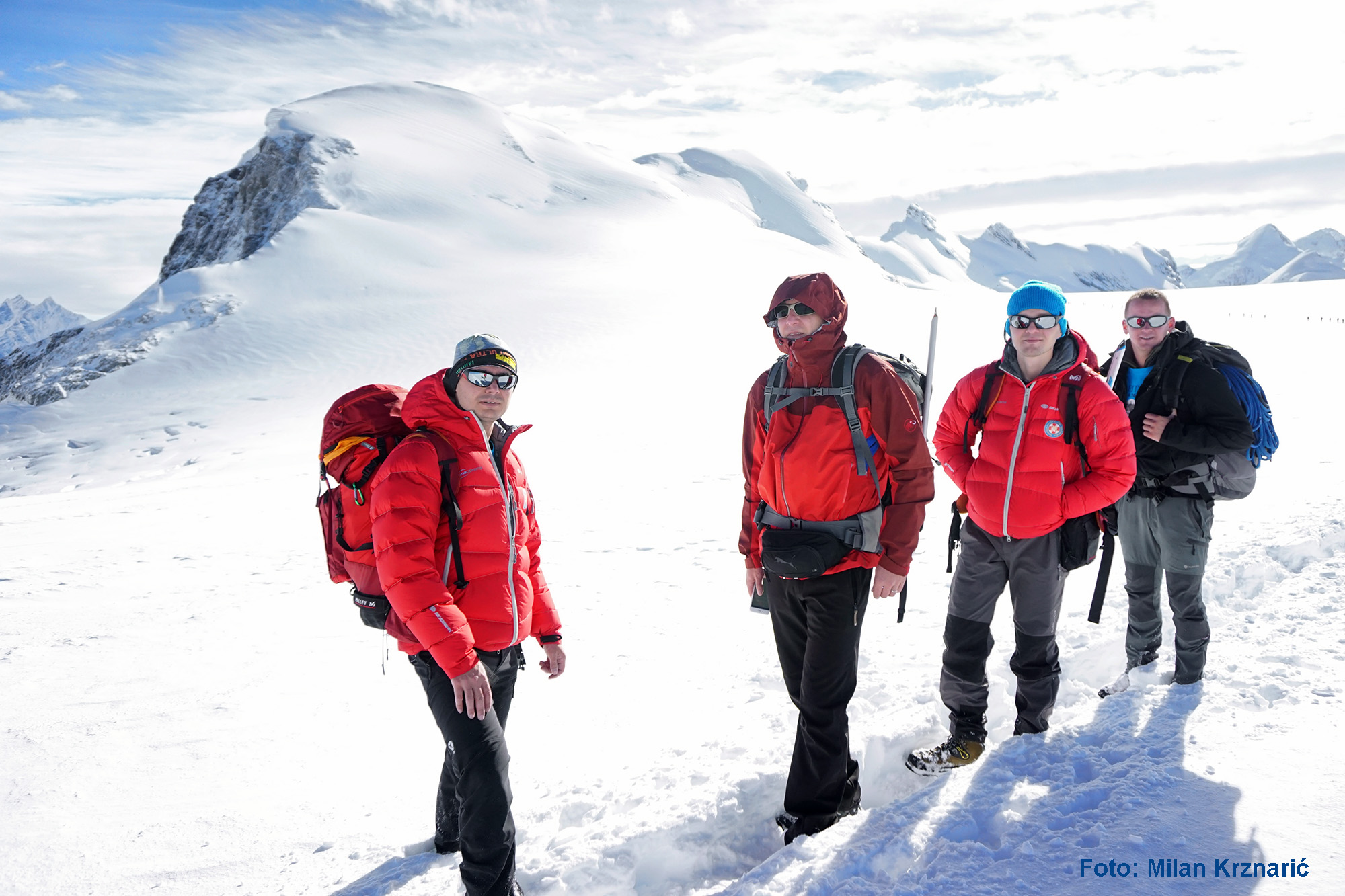 Photo of FOTO Hrvatski tim penjača osvojio vrh Breithorn u Švicarskoj!