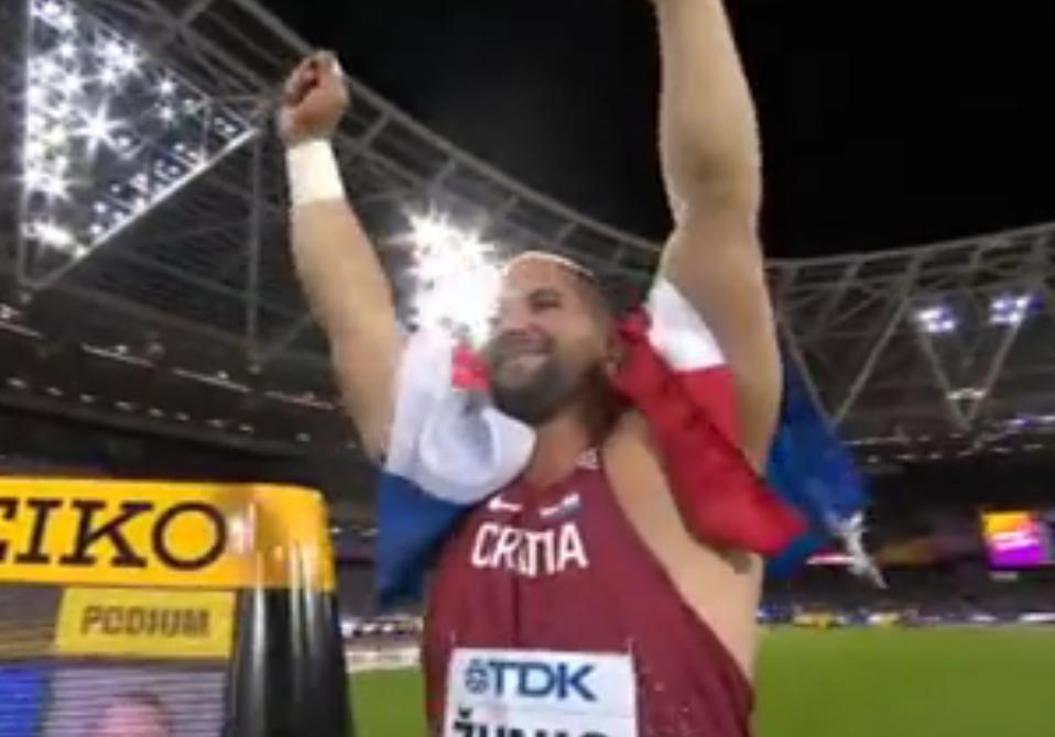 Photo of Stipe Žunić osvojio broncu na Svjetskom atletskom prvenstvu u Londonu!