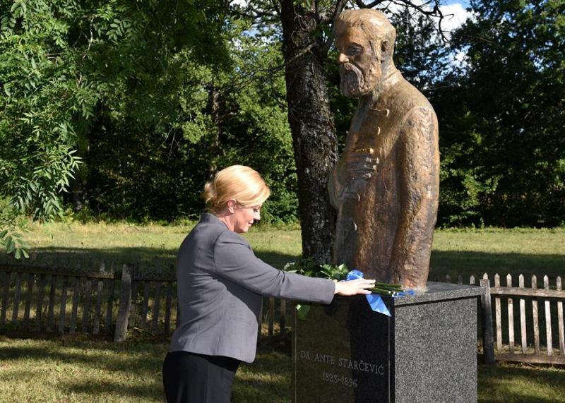 Photo of Predsjednica će danas posjetiti Korenicu, Udbinu i Lovinac