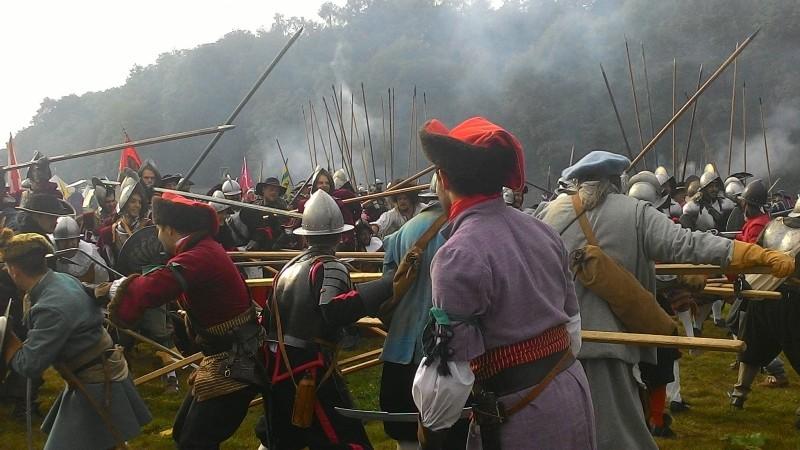 Photo of Kravat pukovnija sudjelovala u spektaklu uprizorenja bitke na Bijeloj Gori!