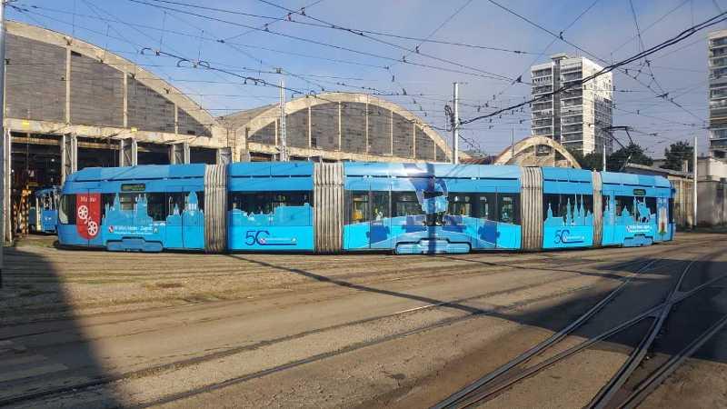 Photo of Tramvaj prijateljstva Zagreba i Mainza