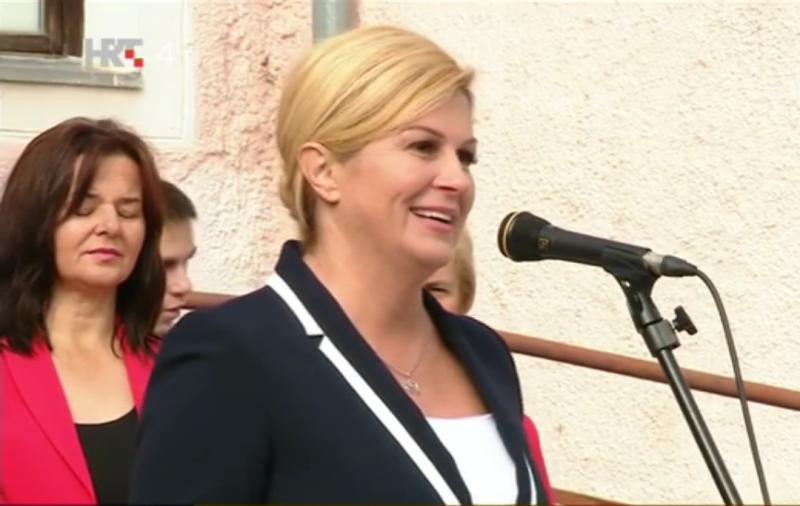 """Photo of Predsjednica Grabar-Kitarović: """"Brojke o padu nezaposlenosti su krive"""""""