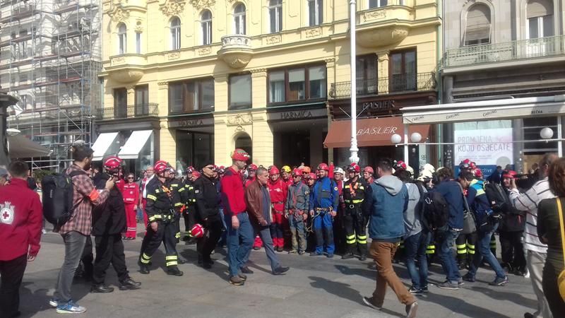 Photo of Vježba civilne zaštite grada Zagreba