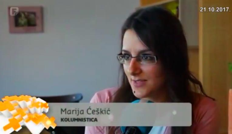 Photo of VIDEO: Federalna TV snimila prilog o kolumnistici LIKACLUB-a