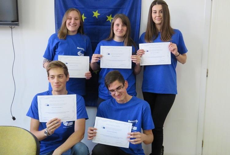 Photo of Gospićki gimnazijalci na radnom sastanku u Strasbourgu