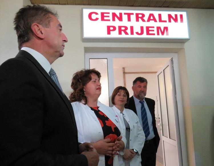 Photo of U gospićkoj Općoj bolnici otvoren novouređeni centralni prijem