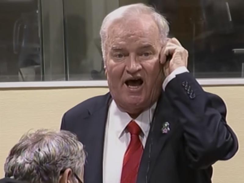 Photo of Ratko Mladić osuđen na doživotnu kaznu zatvora