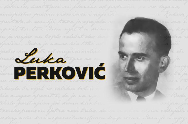 Photo of LIČKI KNJIŽEVNICI: Luka Perković