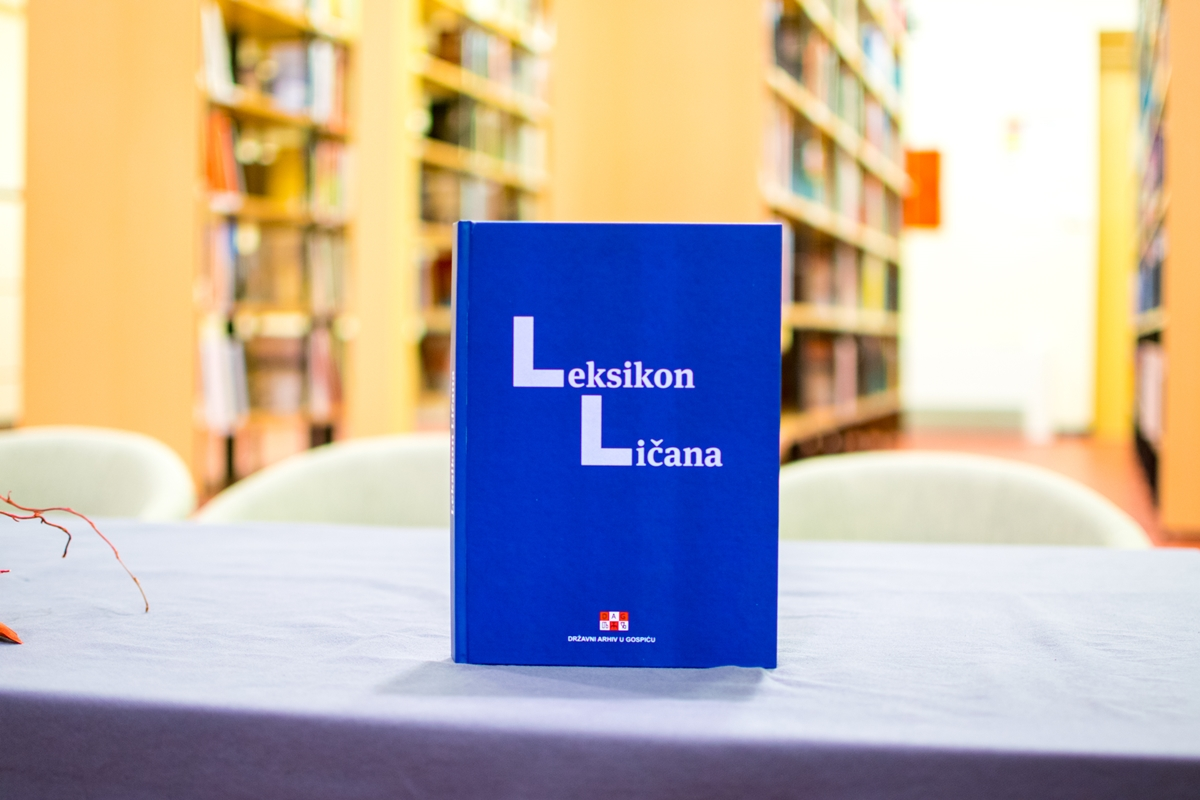 Photo of FOTO: U Gospiću predstavljen LEKSIKON LIČANA – knjiga o istaknutim Ličanima kroz prošlost