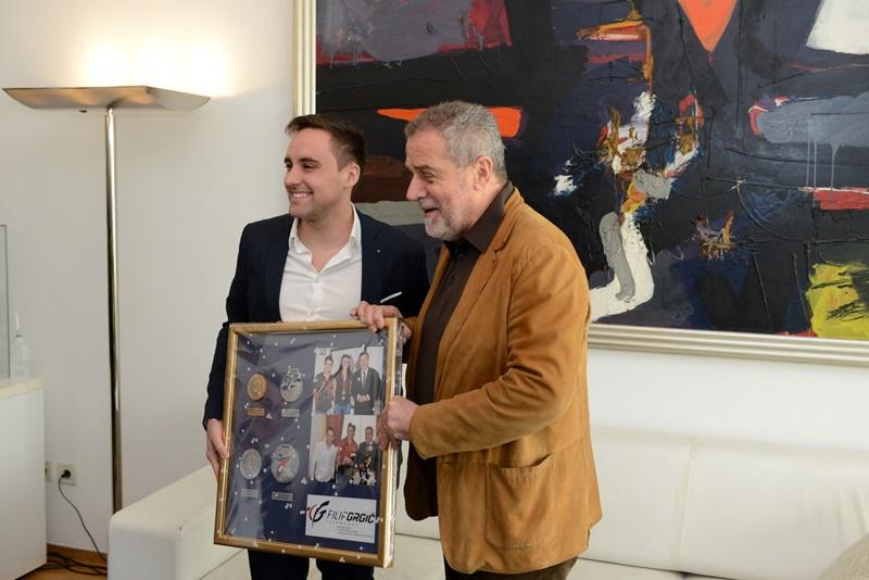 Photo of Gradonačelnik Bandić primio Filipa Grgića