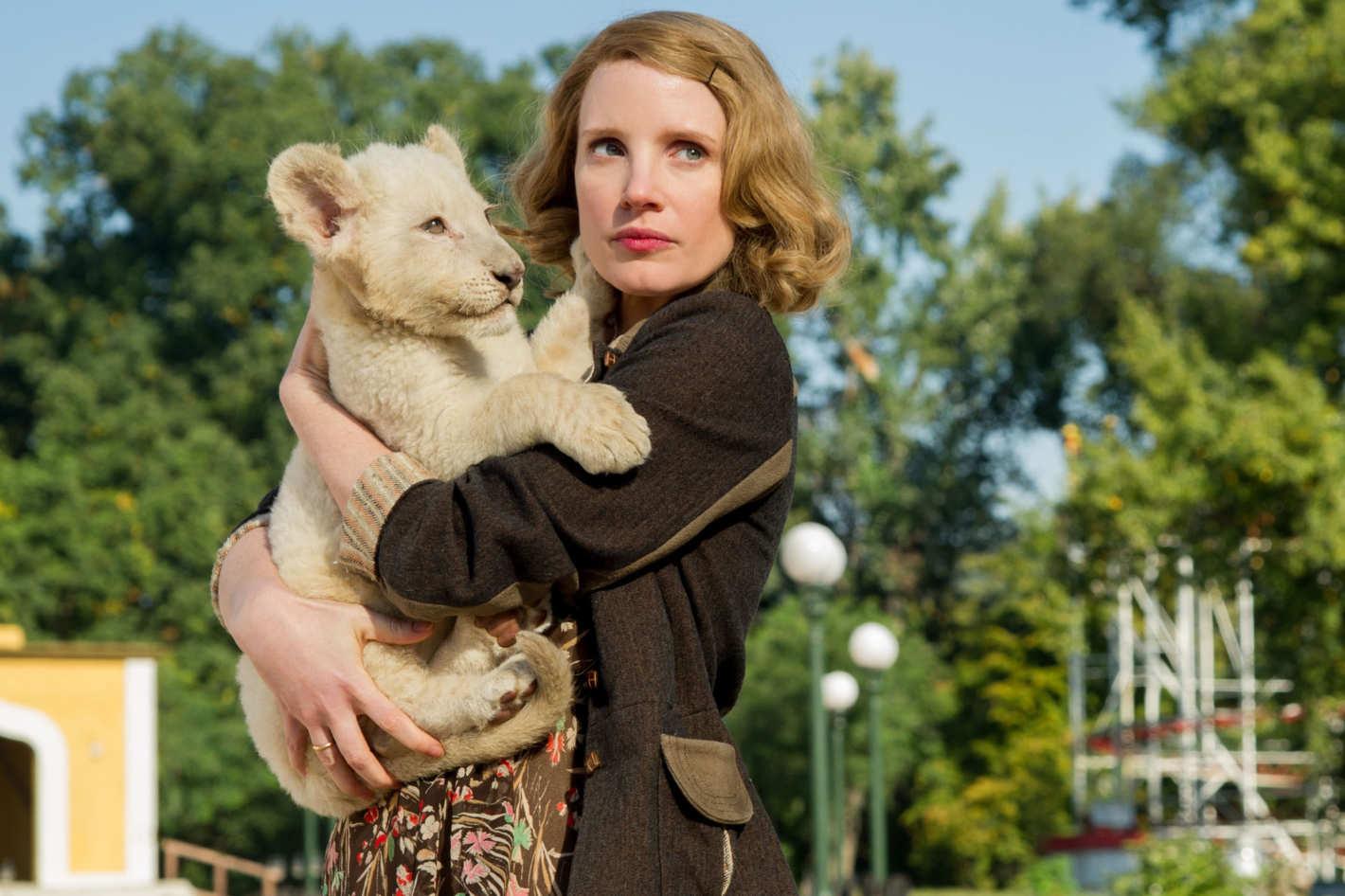 Photo of Recenzija filma ZOOKEEPER`S WIFE: Životinje tijekom bombardiranja zoološkog