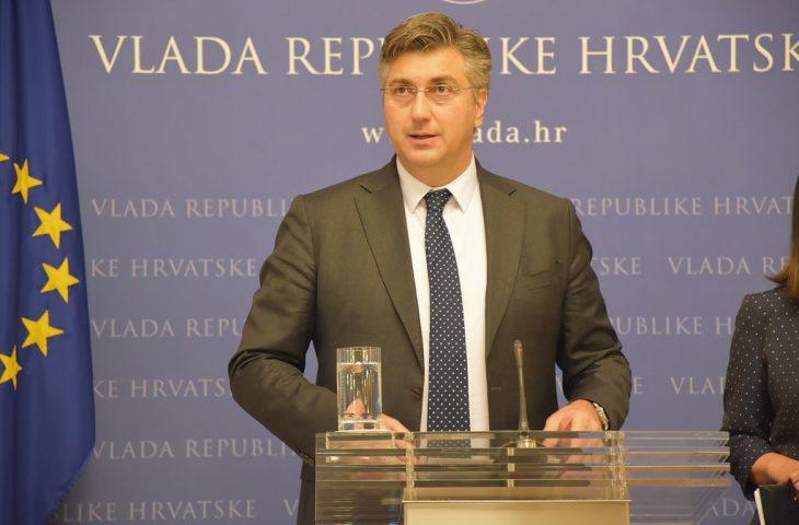 Photo of Predsjednik Vlade Andrej Plenković na 2. sjednici Posebnog stručnog povjerenstva