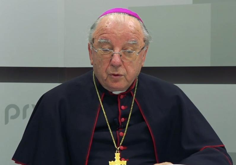 """Photo of Biskup Mile Bogović: """"Frljić nije svinja, nego čovjek, prije ili poslije javit će se savjest u njemu i shvatiti zlo koje sada čini"""""""