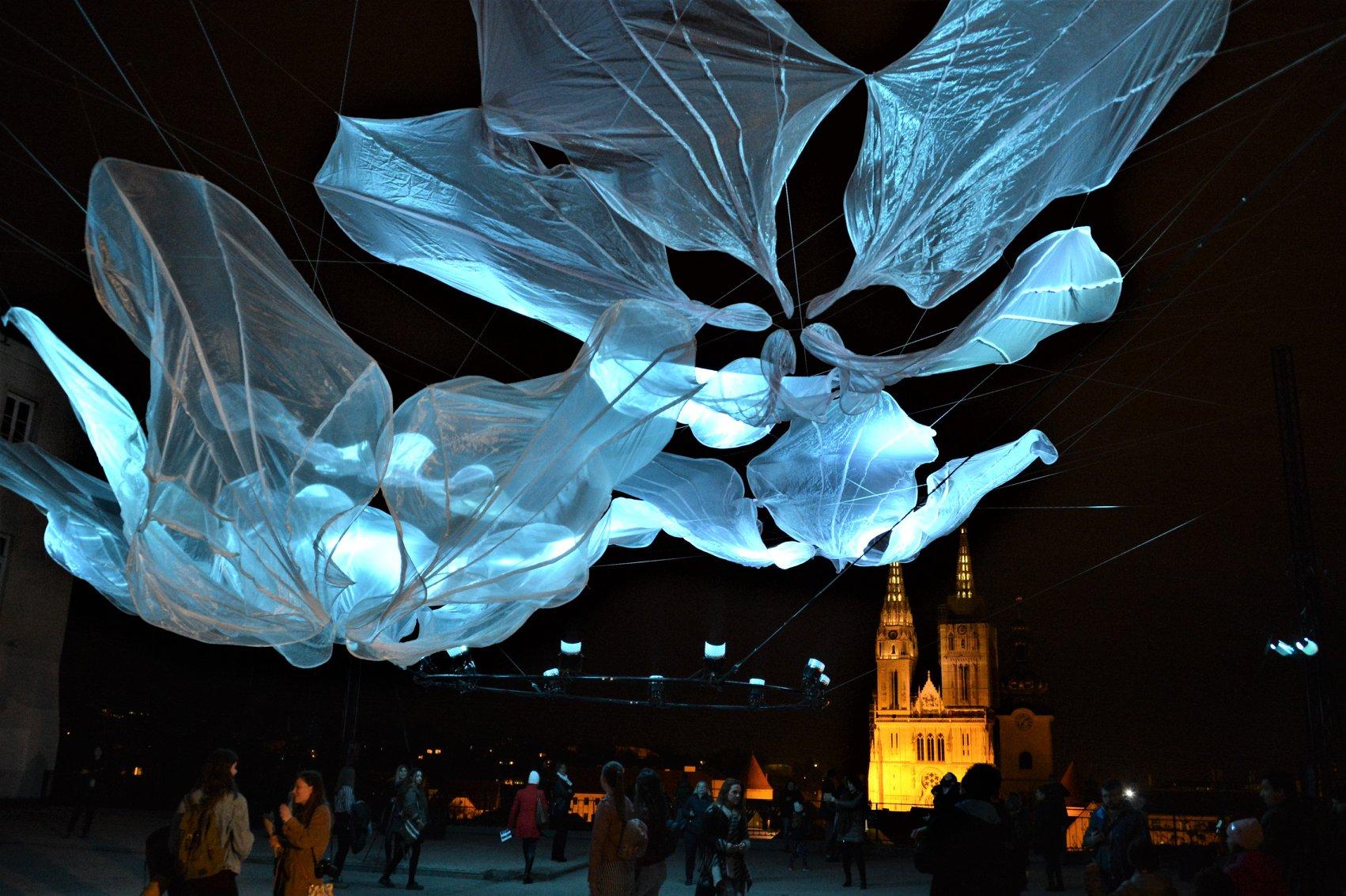 Photo of Na čak 19 lokacija u povijesnoj jezgri Zagreba održava se Festival svjetla