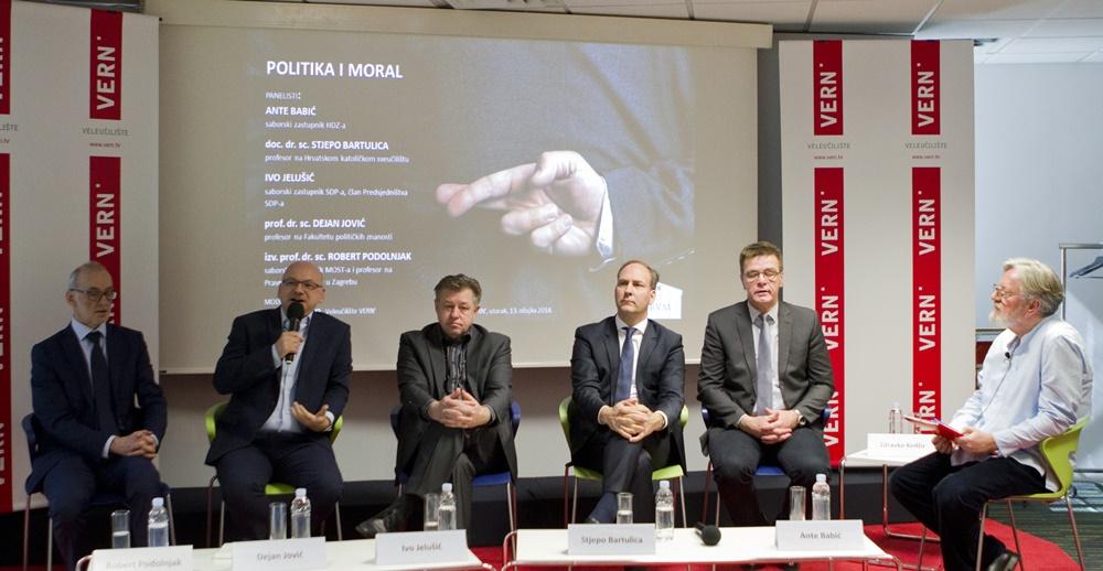 """Photo of Održan panel POLITIKA I MORAL – """"Instrument za eliminaciju nemorala iz politike su izbori"""""""