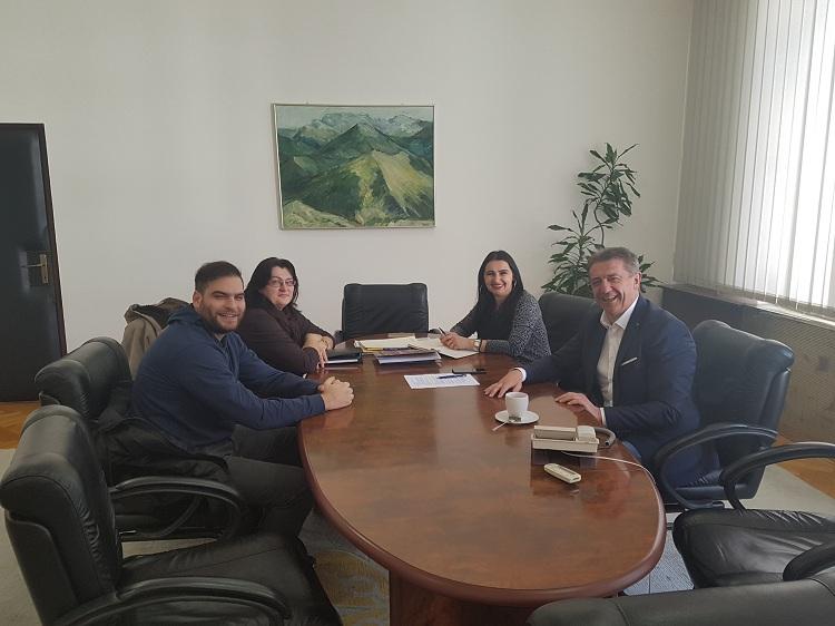 Photo of Župan Milinović na radnom sastanku s predstavnicima udruge AnimalLika