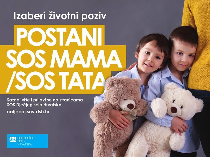 Photo of SOS Dječje selo Hrvatska traži SOS mame i SOS tate!