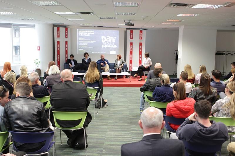 """Photo of VERN` Održan panel """"Medijska pismenost – društvena vještina za 21. stoljeće"""""""