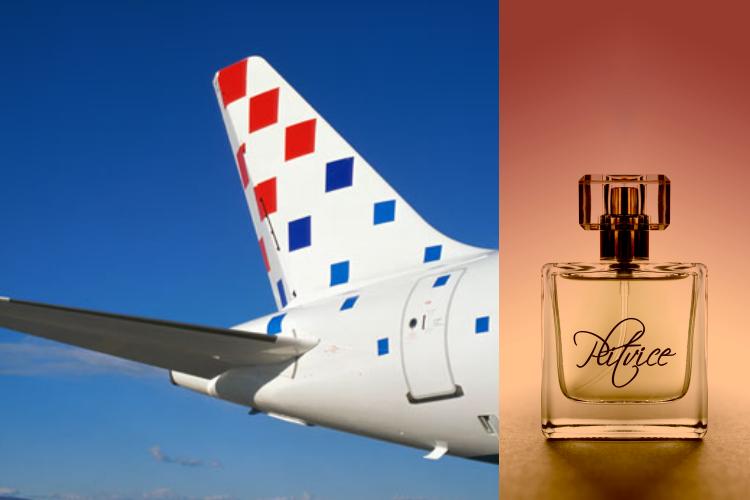 """Photo of Parfem Plitvice u časopisu Croatia Airlines: """"Ponesite komad Hrvatske u svijet!"""""""