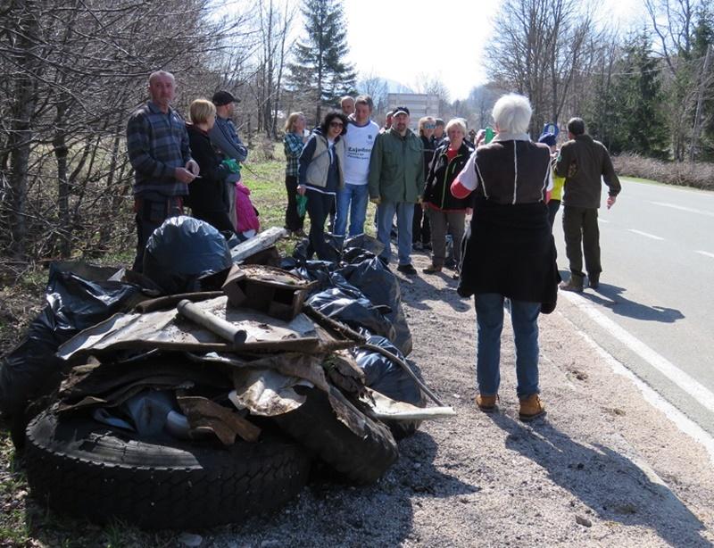 Photo of U ovogodišnjoj akciji čišćenja Plitvičkih jezera sudjelovalo je 150 volontera