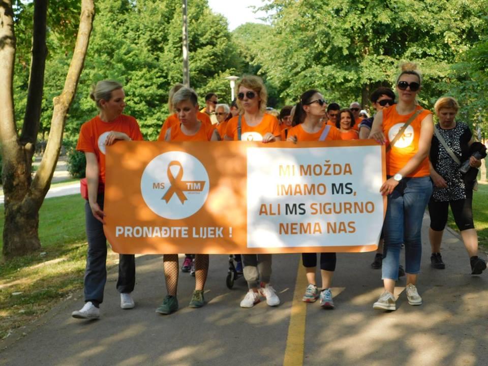 """Photo of Udruga MS tim Hrvatska poziva: """"Hodajte s nama, hodajte za one koji to ne mogu!"""""""