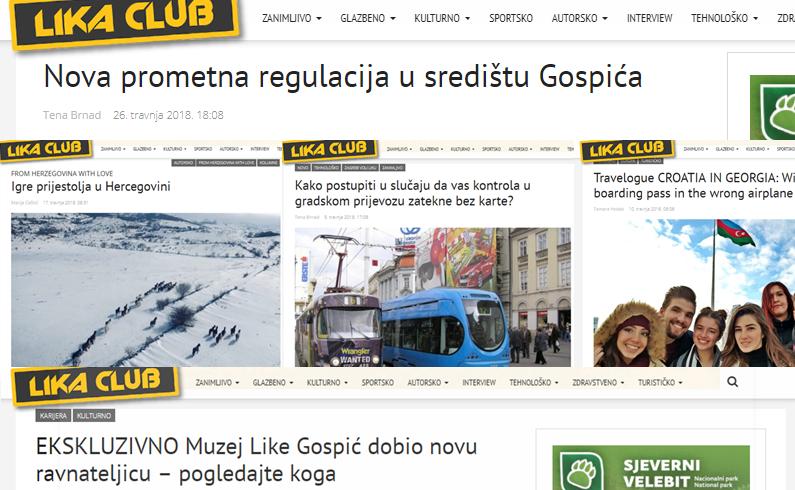 Photo of TOP 5 Što se najviše čitalo u travnju? Prometna regulacija u Gospiću, putopis, nova ravnateljica Muzeja Like…
