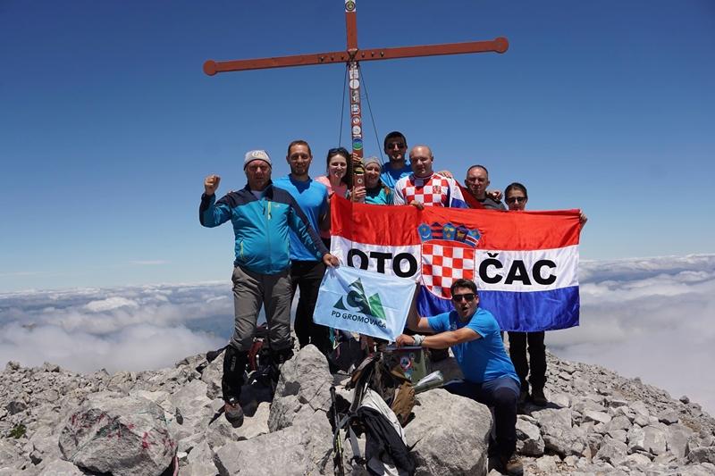 Photo of FOTO Gromovčani na vrhu Proklete planine
