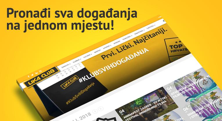 Photo of Novo na portalu LIKACLUB: Dobrodošli u Klub Svih Događanja!